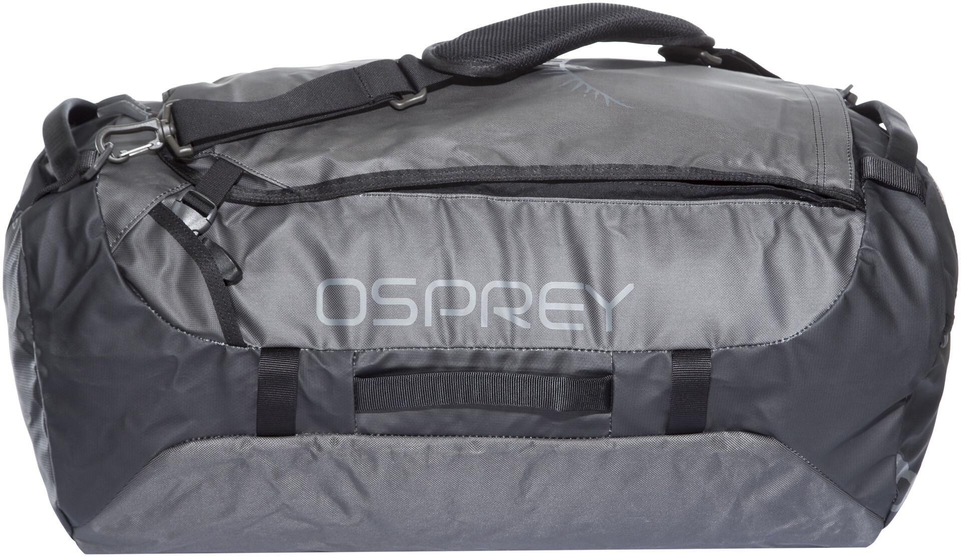 Osprey Transporter 65 Duffel Bag, black